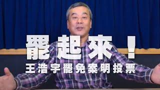 '21.01.15【觀點│小董真心話】罷起來王浩宇罷免案明投票
