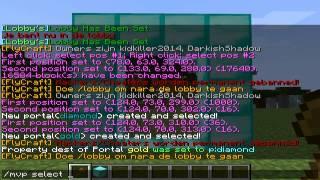 Multiverse Portals plugin tutorial (Dutch)