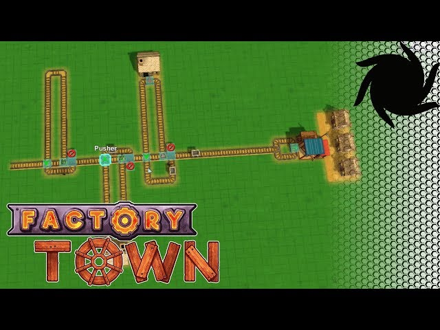 Factory Town Logistics  - Single Rail Delivery System