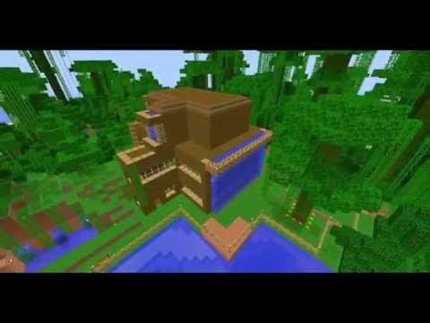 Descargar mapa minecraft CASA SELVA 1.5.2 - YouTube