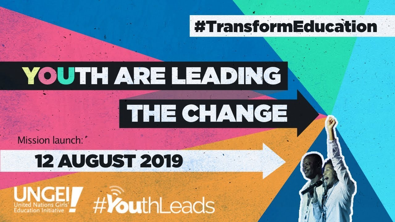 Transform Education: a youth-powered mission for gender equality