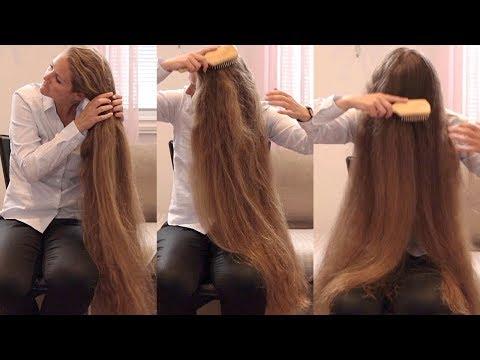 RealRapunzels | Siri's Hair Chair (part 2) (preview) - YouTube