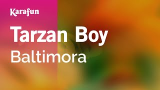Karaoke Tarzan Boy - Baltimora *