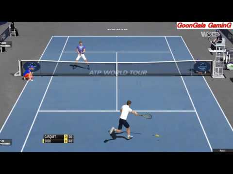 Richard Gasquet vs Jack Sock | BNP Paribas Masters Paris 2016 | TE 2013 Simulation