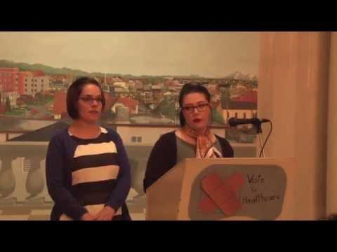 Pan-Canadian Pharmacare - Sarah Chown & Amber Bedard, YouthCO