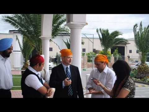 Minister Interview At Craigieburn Gurudwara