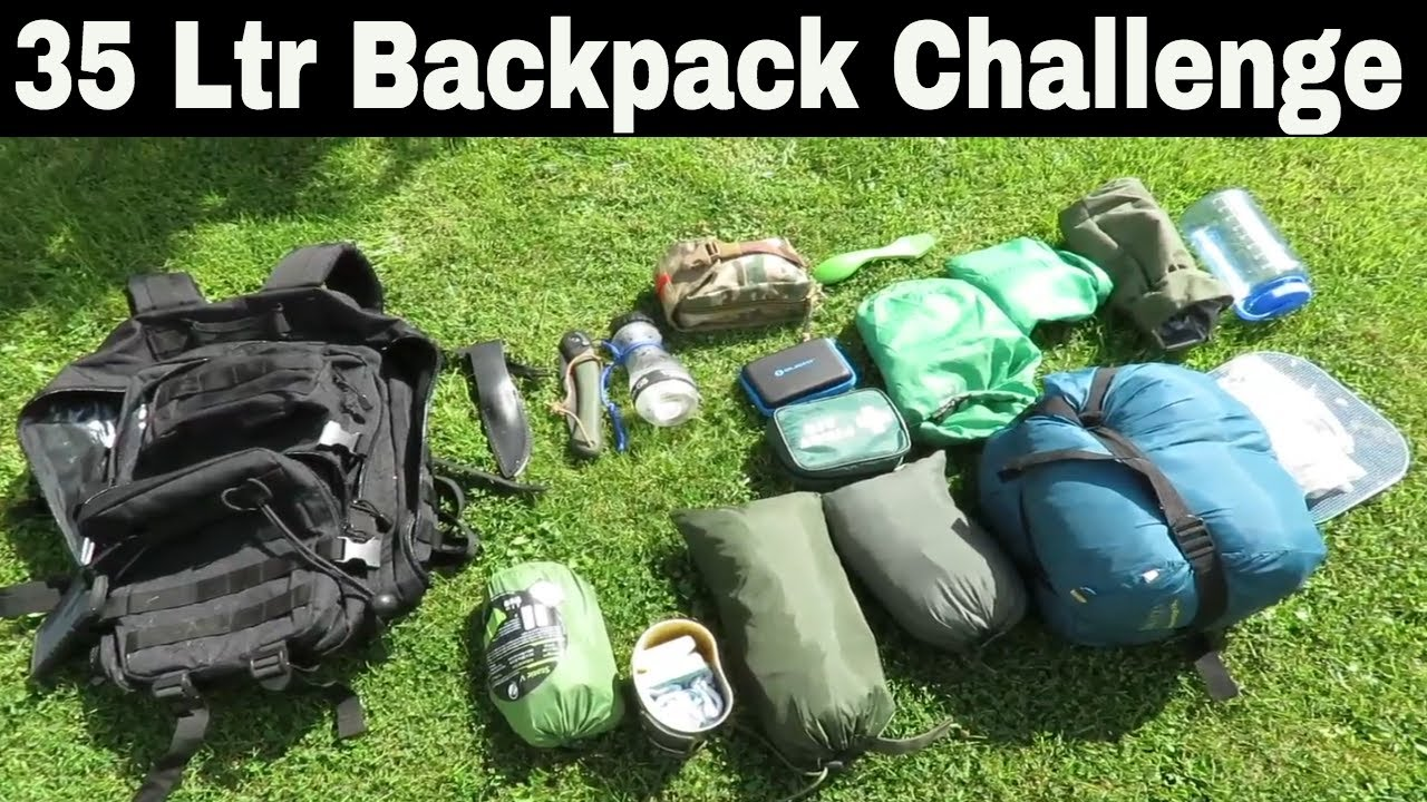 Wild Camping And Bushcraft Skills: MilTec 36Ltr Backpack ...
