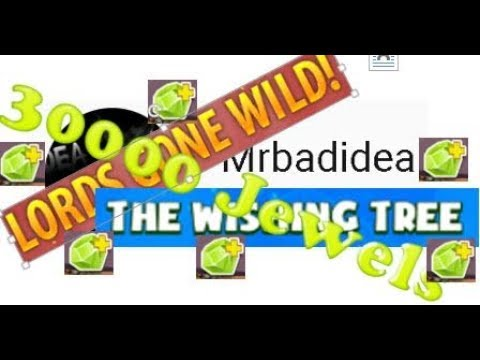 Clash of Lords 2 - $150 Spending 30k Jewels 10x Hire Double Spend Event Lords Gone Wild Wishing Tree