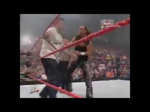 Backlash 2006 Shawn Michaels vs Shane & Vince McMahon highlights