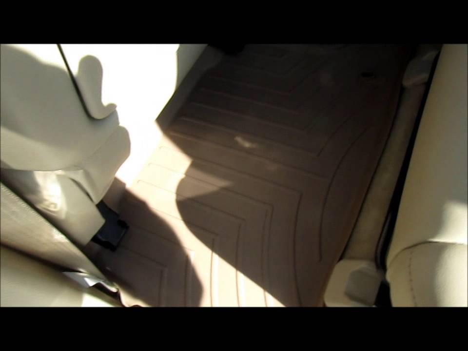 floor watch mats to lexus tech weather rx youtube the install on how
