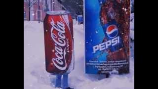 Новогодний рекламный ролик Coca-Cola.
