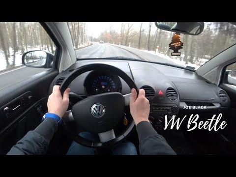 Volkswagen Beetle 2005 TDI 4K | POV Test Drive #041 Joe Black