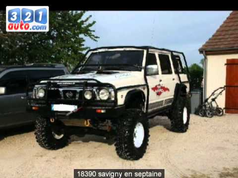 occasion nissan patrol savigny en septaine youtube. Black Bedroom Furniture Sets. Home Design Ideas