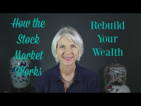 How the Stock Market Works I Rebuild Your Savings Accounts
