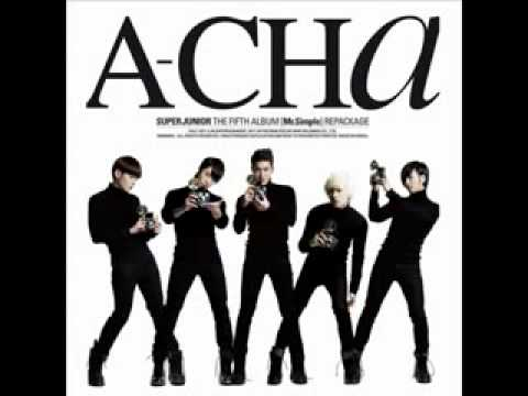 [Free MP3 Download] Super Junior - A-CHA (Full Audio + Download Link)