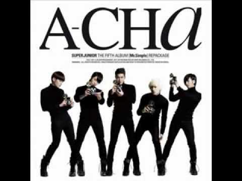 [Free MP3 Download] Super Junior - A-CHA (Full Audio + Download Link)