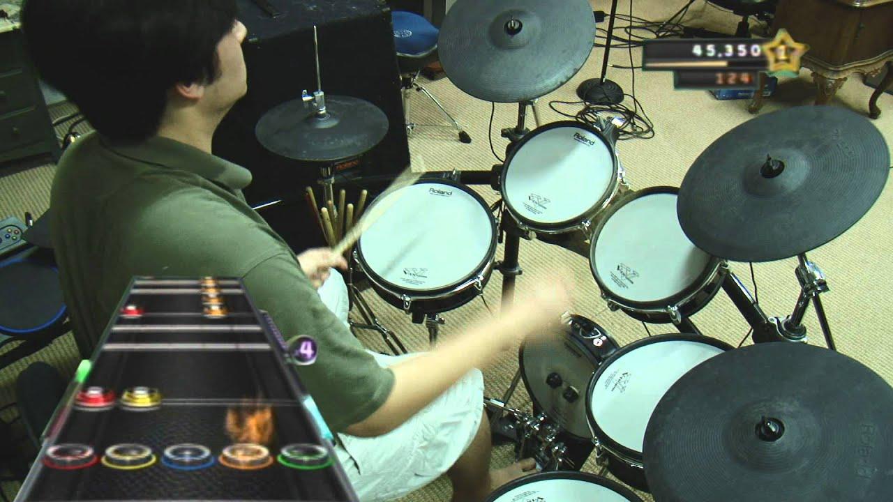 dammit drums 100 guitar hero youtube. Black Bedroom Furniture Sets. Home Design Ideas