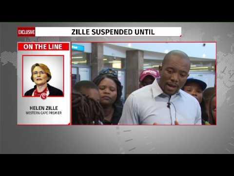 Helen Zille responds to DA suspension