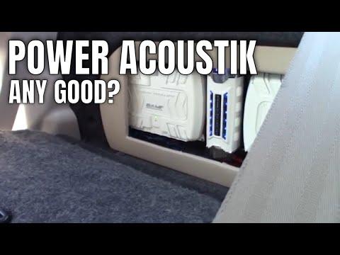 Power Acoustik Car Audio System : Any Good?