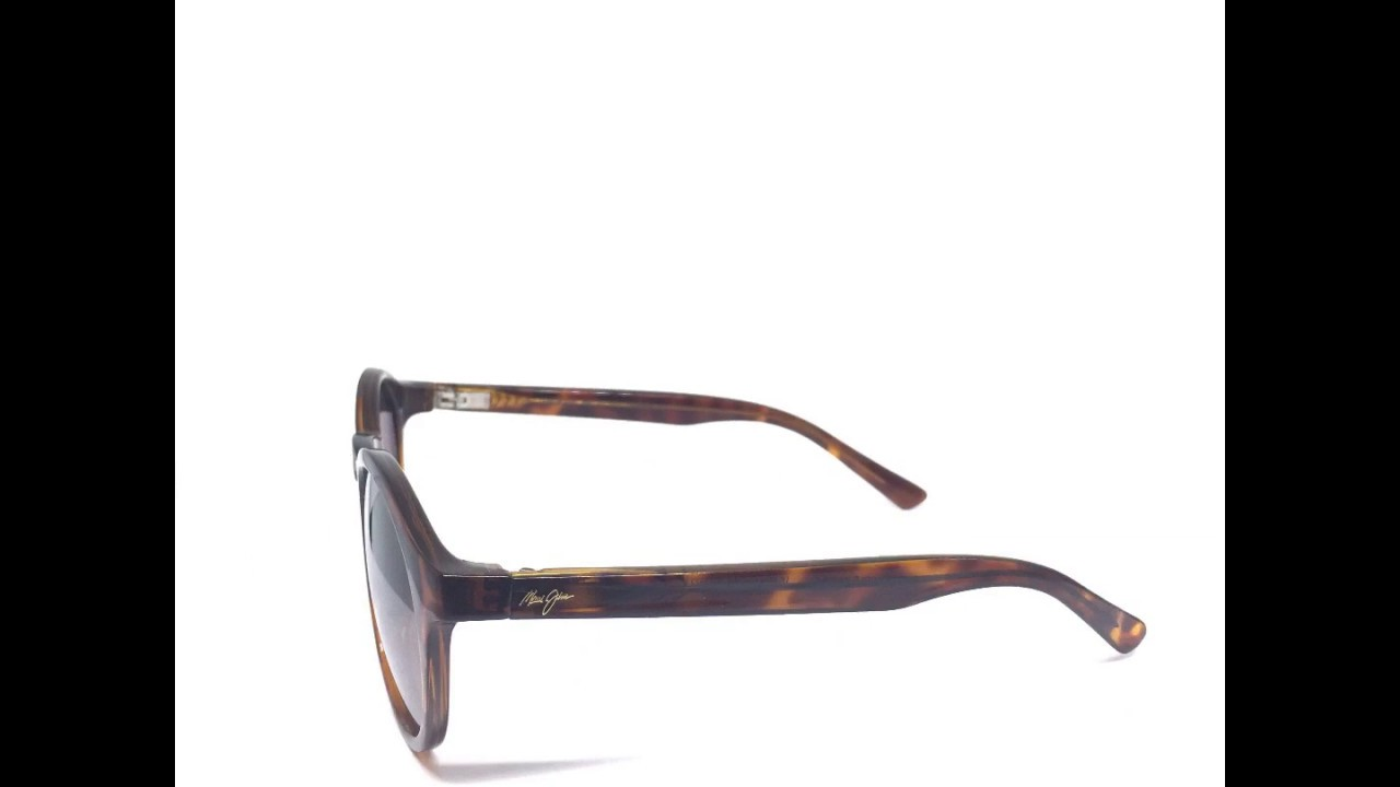 922ded80bc 360 Degree View - MAUI JIM  PINEAPPLE  MJ 784-10 Tortoise Polarized  Sunglasses Frame 50-20-135