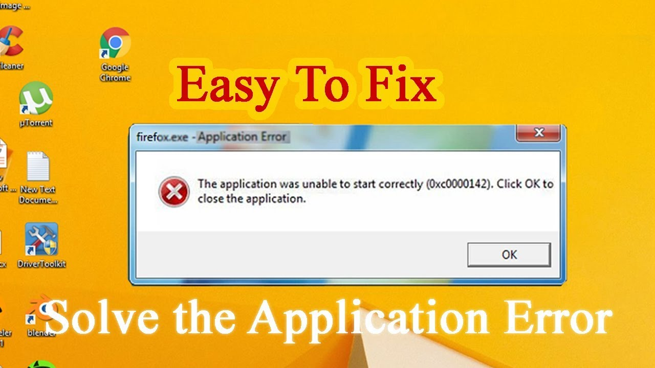 How to Fix The application was unable to start correctly 0xc0000005 (Easy  Way) by IT Magics