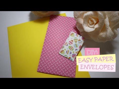 DIY: Easy Paper Envelopes   Packaging Ideas