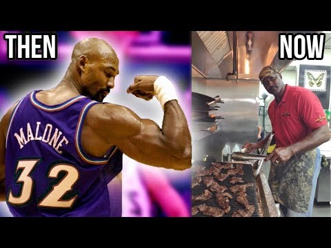 Where Are They Now? KARL MALONE