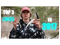 Top 3 Lures to CATCH YOUR FIRST STRIPED BASS in 2017!