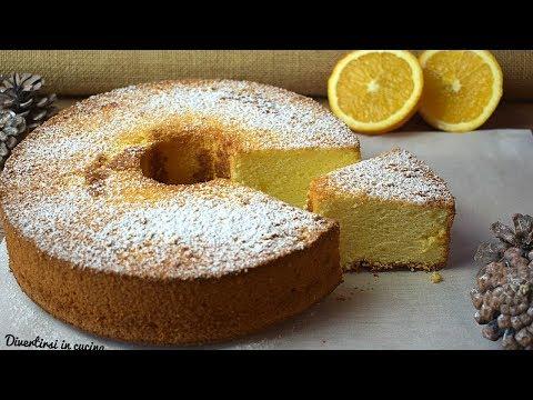 Torta Nuvola arancia e limone | Chiffon Cake | Divertirsi in cucina