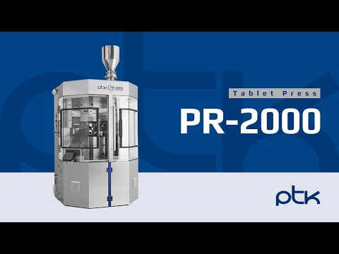 PTK Tablet Press, PR2000 Series