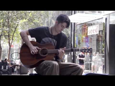 "Awesome Street guitar cover ""ocean"" by john butler"