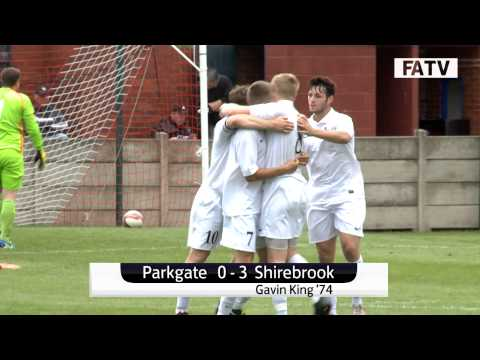 Parkgate 0-3 Shirebrook Town, FA Cup Extra Preliminary Round