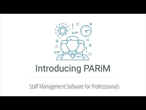 Overview of PARiM´s Staff Management Solution