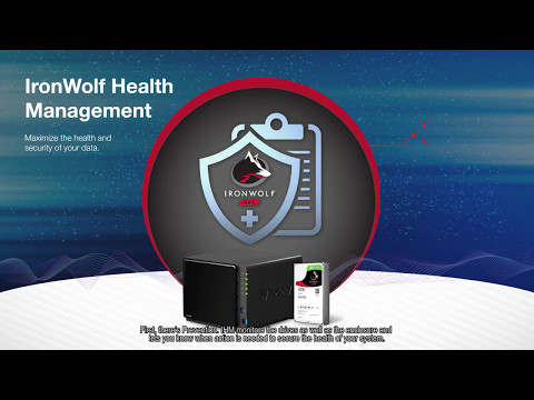 IronWolf Health Management with Synology