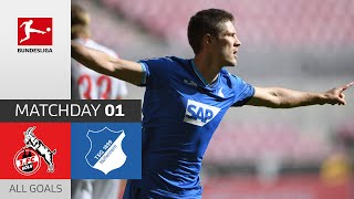 #koetsg | highlights from matchday 1!► sub now: https://redirect.bundesliga.com/_bwcs watch all goals of 1. fc köln vs. tsg hoffenheim 1 202...