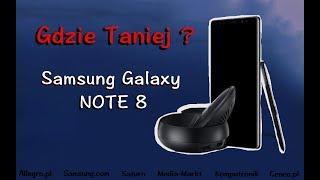 Gdzie taniej? Samsung Galaxy Note 8 - Saturn, Allegro, Play, T-mobile ? Odc 29.