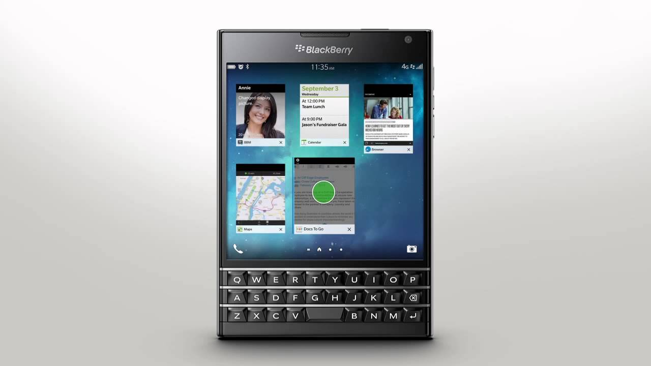 Getting Around The Smartphone Interface: BlackBerry Passport - Official How To Demo