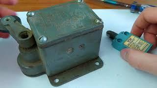💲 Ого сколько серебра в двух концевых выключателях (большой Советский и маленький Японский)