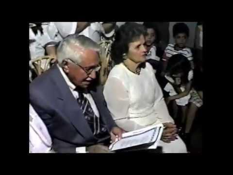 ADALGIZA E JAIRO CASTELO BRANCO,  BODAS DE OURO 1995