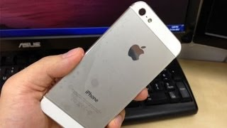 1st Defective Apple iPhone 5 - Loose Rattling Sound when shaked (thumping noise/vibration problem) thumbnail