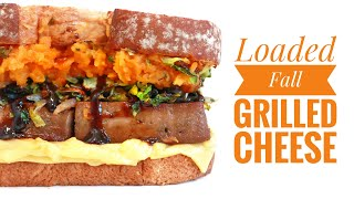 How To Start Being Vegan In The Kitchen With MSVEGAN | Loaded Fall Grilled Cheese