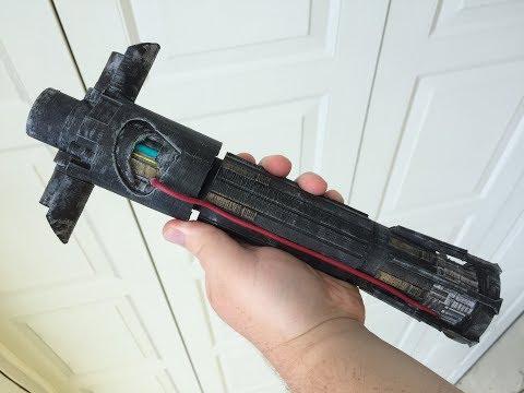 DIY Kylo Ren Lightsaber - Star Wars Force Awakens