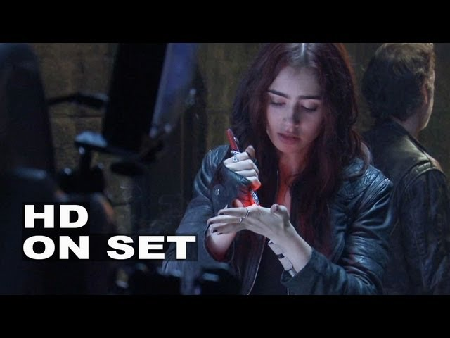 The Mortal Instruments: City of Bones: Behind the Scenes Part 3 of 3 (Broll)