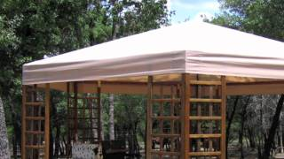 Sams Club Wood Hexagon Gazebo Replacement Canopy