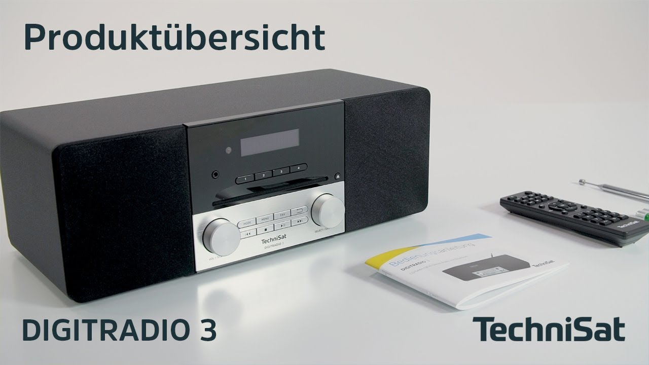 Video: DIGITRADIO 3 | Produktübersicht | TechniSat