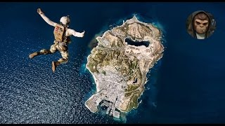 ► GTA 5 REDUX ✪ - Jump From The End Of The Map! Jump From Space! 1080p - 60 FPS