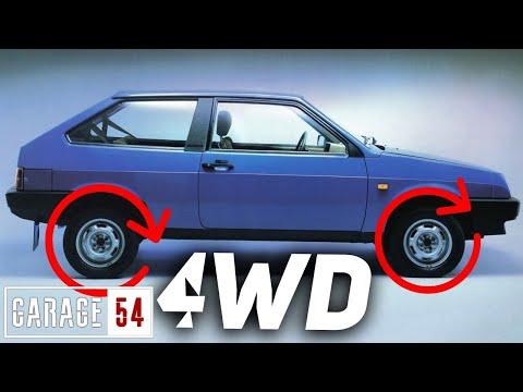 4WD (ПОЛНЫЙ ПРИВОД) на ВАЗ 2108