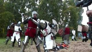 Lithuania war 1236.Battle of The Sun-Thundertale.Clip