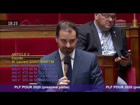 Budget 2020 : intervention sur l'article 2 - baisse de l'impôt sur le revenu