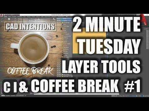 AutoCAD: How to use Layer Tools & Coffee Break Ep#1: Lenovo X1 Yoga Unboxing